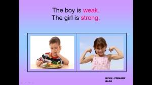 WEAK STRONG